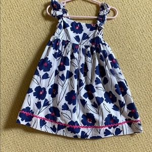 Busy bee floral dress